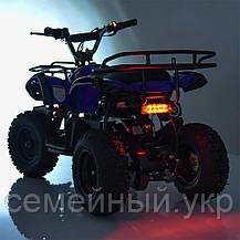 Квадроцикл. Надувные колеса. Один мотор. Три батареи. Время на езду 50 минут.  HB-EATV800N-NEW4(MP3) V2, фото 3