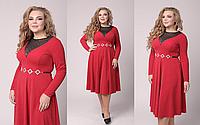 Сукня жіноча з завищеною талією, з 48-56 розмір, фото 1
