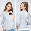 Джемпер для беременных и кормления LERIN BL-19.022 серый