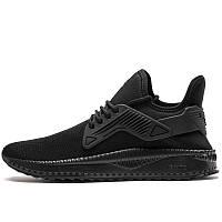 Кроссовки мужские Puma TSUGI Cage 365394 06 (черные, тканевый верх, для тренировок, бренд пума)