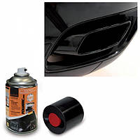 Краска спрей для выхлопной трубы Foliatec Exhaust Pipe 2C Gloss Spray Paint (+180 градусов) 2125-черный глянец