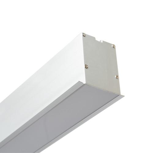 Vela VL-LED 120W 13200Lm (71х75х3000) врезной/встроенный линейный LED-светильник
