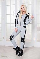 Donna-M Модный молодежный теплый спортивный костюм Р 950, фото 1