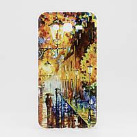 Чехол Print для Samsung J7 Neo / J701F/DS силиконовый бампер Autumn