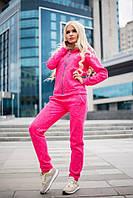 Donna-M Молодежный теплый спортивный костюм с опушкой Р 1472, фото 1