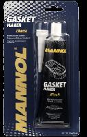Черный силиконовый герметик Mannol Gasket maker BLACK 85g