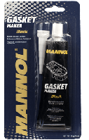 Чорний силіконовий герметик Mannol Gasket maker BLACK 85g