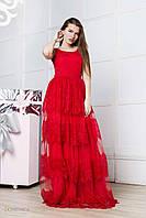 Donna-M Эксклюзивное нарядное платье из дорогого кружева Р 2002, фото 1