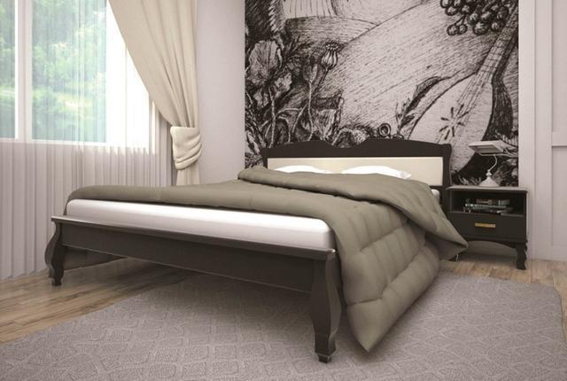Кровать полуторная Корона 3 (венге)
