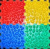 Коврик массажный Пазлы 4 элемента, фото 3