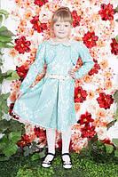 Стильное детское нарядное платье