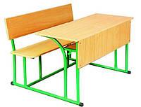 Парта лава школьная-аудиторная-учебная с держателем для ручек и подстаканником