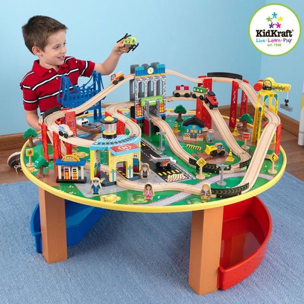 Детские деревянные игровые наборы KidKraft