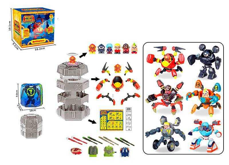 "Герой ""Bot Blaster"", 6 видов, N801"