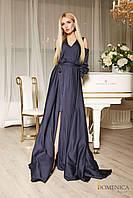 Donna-M Восхитительное платье макси из шёлка Р 2122, фото 1