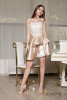 Donna-M Платье с двухуровневой юбкой Р 2131, фото 1
