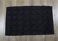Коврик Irya - Cuba siyah черный 50*80