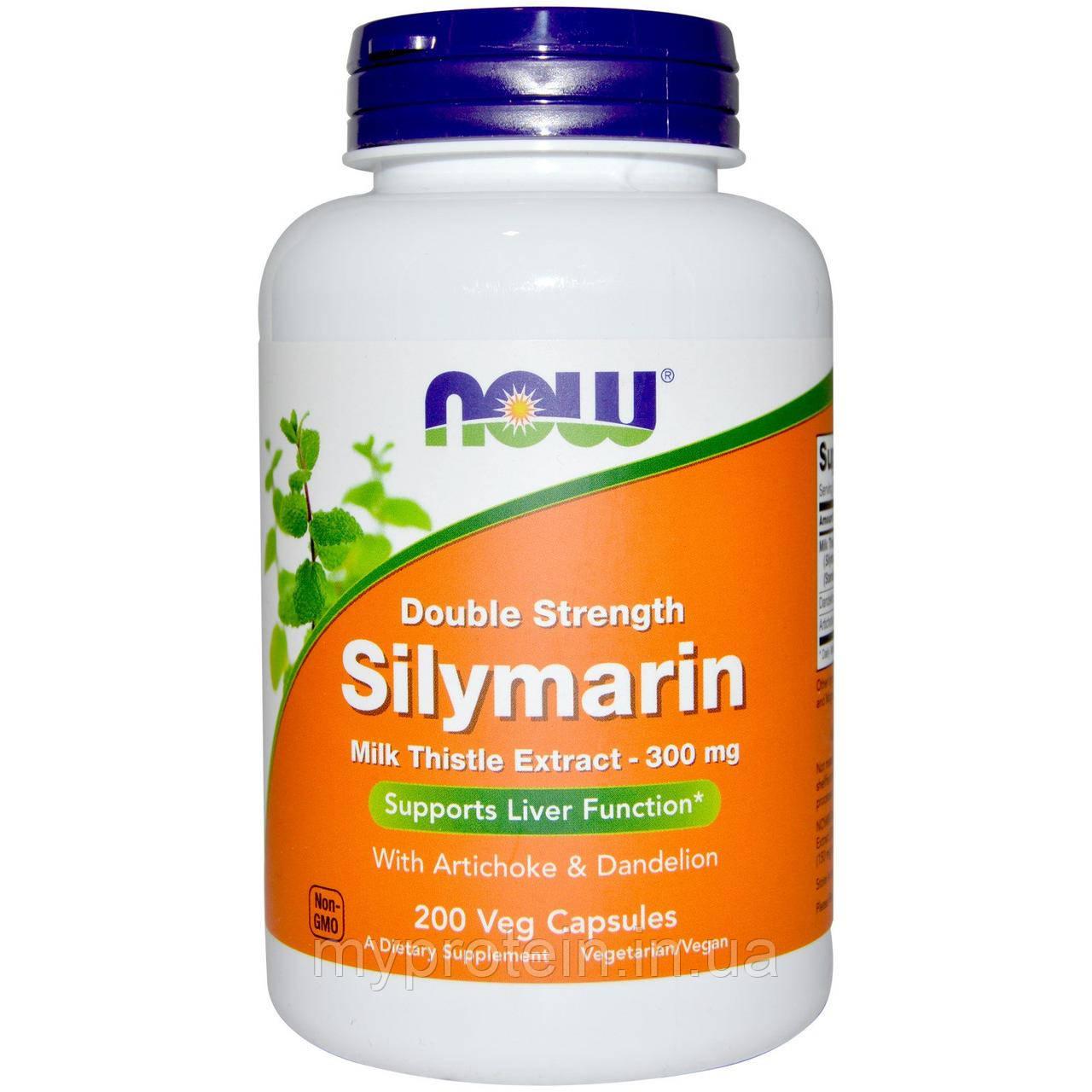 NOWСилимаринSilymarin Milk Thistle Extract 300 mg50 veg caps