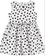 Праздничное платье с блёстками Carter's размер 12М для девочки рост 72-76 см Картерс оригинал нарядное