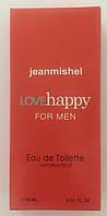 Мужской минипарфюм jeanmishel loveHappy for men 10 мл