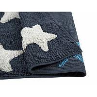 Коврик Irya - Star mavi голубой 50*90