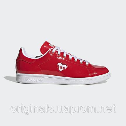 b84758ed3006 Женские кроссовки Adidas Stan Smith Glossy W G28136 - 2019, фото 2