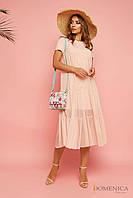 Donna-M Воздушное расклешенное платье «baby doll» Р 1803, фото 1