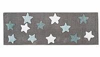 Коврик Irya - Star gri серый 50*90