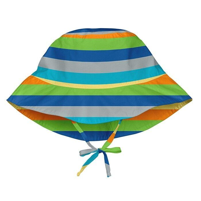 Солнцезащитная панамка I Play -Light Gray Multistripe (BB)