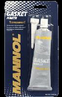 Прозрачный силиконовый герметик Mannol Gasket maker TRANSP 85g