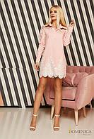 Donna-M Нежное платье-рубашка с воротничком Р 2194, фото 1