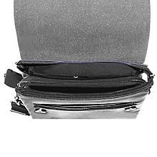 Мужская сумка-мессенджер DIWEILU 21х25х6  м 9888-3ч, фото 2