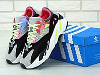 Кроссовки женские цветные красивые Adidas Yeezy Boost 700 Адидас Изи Бутс 700