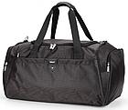 Дорожная спортивная сумка Dolly 787 три расцветки 46 см. - 25 см. - 25 см. Чёрный, фото 3