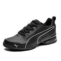 Кроссовки мужские Puma Leader VT Sl 365291 02 (черные, беговые, весна/осень, вентилируемые, бренд пума)