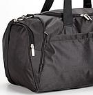 Дорожная спортивная сумка Dolly 787 три расцветки 46 см. - 25 см. - 25 см. Чёрный, фото 5