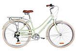 """Жіночий міський велосипед з багажником DOROZHNIK AL SAPPHIRE VBR 28""""(сакура), фото 3"""