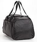 Дорожная спортивная сумка Dolly 787 три расцветки 46 см. - 25 см. - 25 см. Чёрный, фото 6
