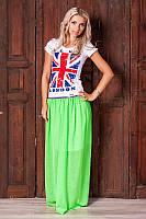 Женская летняя полупрозрачная юбка макси 316 от производителя