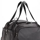 Дорожная спортивная сумка Dolly 787 три расцветки 46 см. - 25 см. - 25 см. Чёрный, фото 7