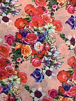 Шифон персиковая весна, фото 1