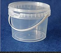 Ведро пластиковое для меда 1 л