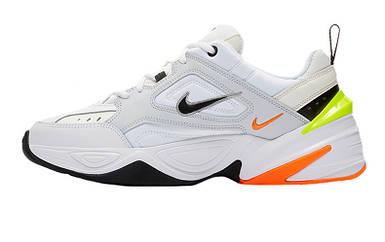 Женские кроссовки Nike M2K Tekno Pure Platinum Black-Sail White