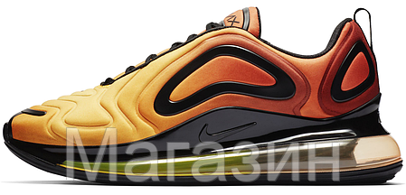 b7f56aef Мужские кроссовки Nike Air Max 720 Team Orange/Black/University Gold AO2924  (Найк