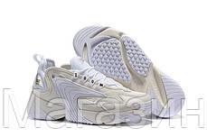 "Мужские кроссовки Nike Zoom 2K ""White"" AO0354-101 (Найк Зум 2К) белые, фото 2"