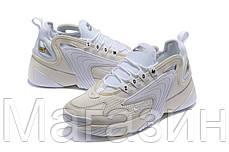 "Мужские кроссовки Nike Zoom 2K ""White"" AO0354-101 (Найк Зум 2К) белые, фото 3"