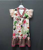 Брендовое платье на девочку производство Италия