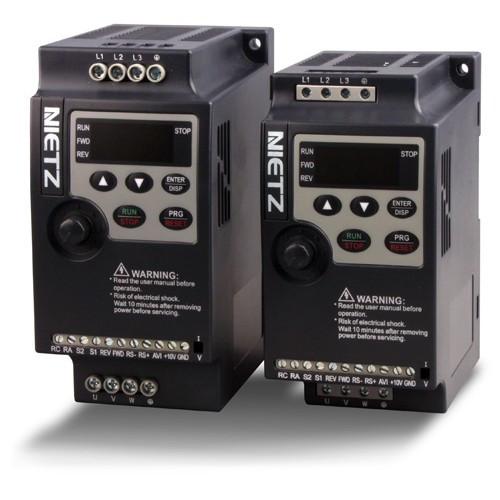 Малогабаритный частотный преобразователь NL1000-00R7G2 0,75 кВт, 1ф, 220В