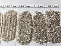 Кварцевый песок 0,4-0,8 мм 25 кг