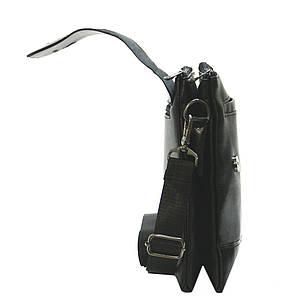 Чоловіча сумка-месенджер DIWEILU 22х26х6 вертикальна м 1856-3ч, фото 2
